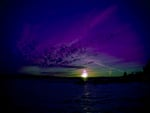 Purple Sunrise on a Distant Planet