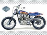 Evel Kinevel's Harley F2