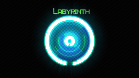 Labyrinth - Photoshop Generated - odd, different, circles, circular, abstract, unusual, 3d, labyrinth, cs5, photoshop, ps, 64-bit