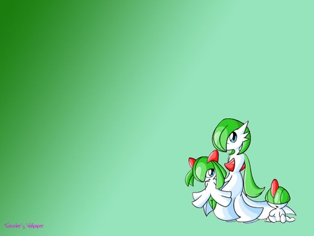 Yay Pokemon - family, ralts, kirlia, gardevoir