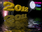 Welcome new year 2012