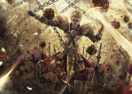 king of heroes fate stay night anime background wallpapers on