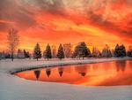 Frozen Fires