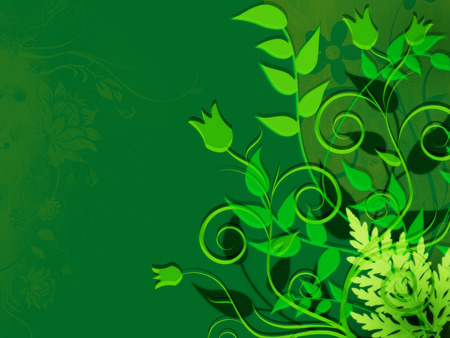 Green Abstract Background Images Abstract Image of Leaves Green