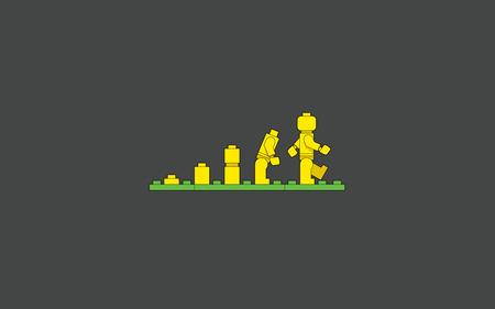 Lego Evolution - evolution, lego