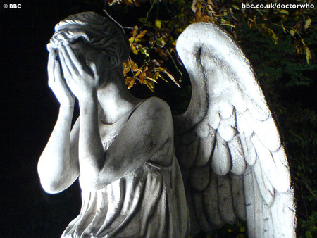 Weeping Angel - david tennant, british, show, weep, bbc, cry, adventure, angle, angel, statue, abstract, sadness, dr who