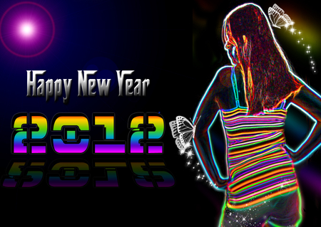 Happy New Year 2012 To all of DESKTOP NEXUS - memories, moments, life, time, new years, friendship, wallpaper