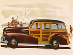 1942 Oldsmobile station wagon