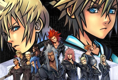 Kh 2 Organization Xiii Kingdom Hearts Video Games