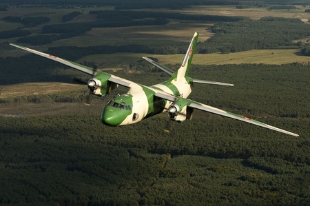 Antonov An-26B - slovakian air force, liason aircraft, turbo prop, transport aircraft