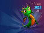 2012 Year of the Dragon in the Chinese horoscope