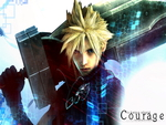 Cloud Strife- Courage