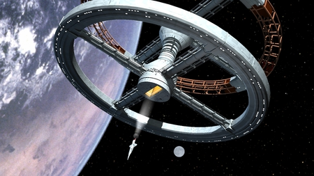 2001 Space Station - sci-fi, space stations, 2001, movies