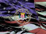 FBI logo with U.S. Flag