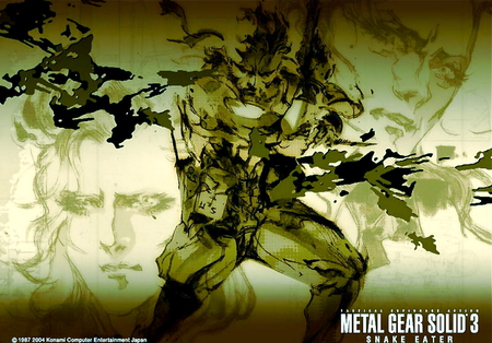 Metal Gear Solid 3 - metal gear, metal gear solid 3, naked snake, metal gear solid, solid snake