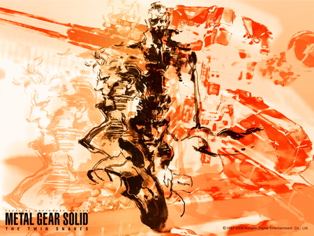 Metal Gear Solid - liquid snake, metal gear solid twin snakes, big boss, metal gear solid, twin snakes, solid snake