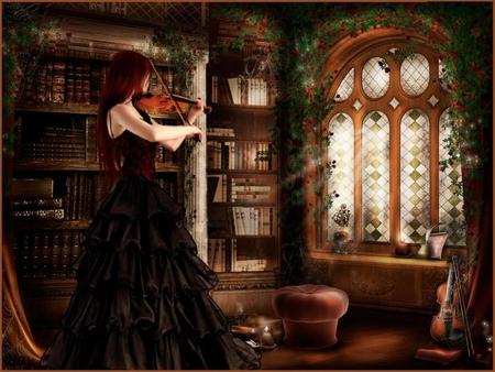Gothic Serenade Fantasy Abstract Background Wallpapers On Desktop Nexus Image 924168