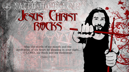 Jesus Christ Rocks Other Abstract Background Wallpapers On