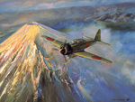Mitsubishi A6M Zero by Roy Cross