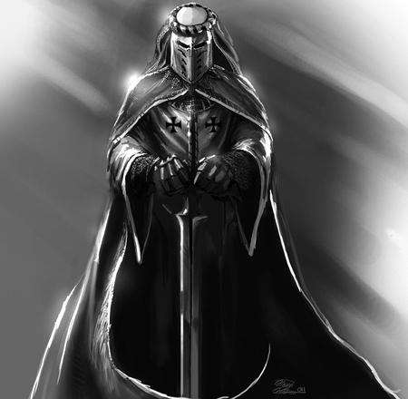 Knight - fantasy, crusader, knight, templar, warrior