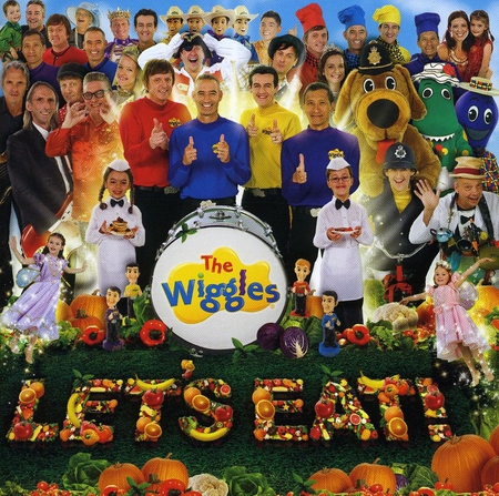 The Wiggles Lets Eat - wiggles, the, lets, eat
