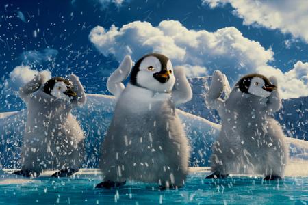 Happy Feet - movie, penguin, happy, animation