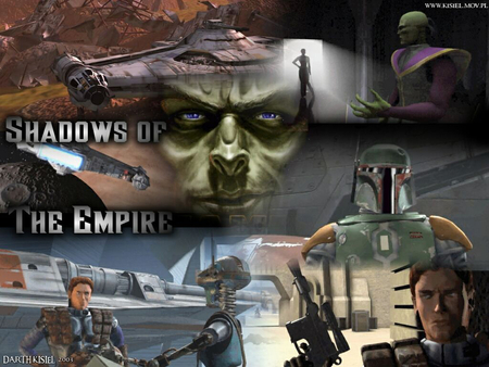 shadows of the empire - ships, moon, boba fett, planet, snow speeder, sith