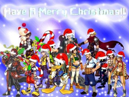 merry christmas games holidays christmas kingdom hearts - Merry Christmas Games