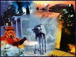 the empire stikes back collage