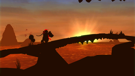 Donkey Kong Country Returns - Sunset - nintendo, dk, diddy kong, donkey kong, sunset, donkey kong country returns, wii
