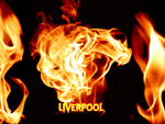 Liverpool Fire Burns