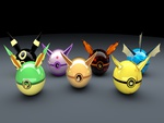 Eveelutions Pokeballs