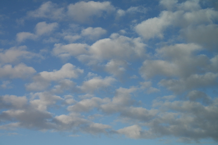 Clouds 02 - photography, sky, blue, clouds, white
