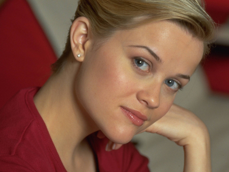 Reese Witherspoon - pretty blue eyes, blondie, female, actress, smile, nice pic