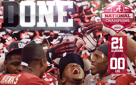ALABAMA CRIMSON TIDE - alabama, roll tide, football, ncaa, champions, crimson tide