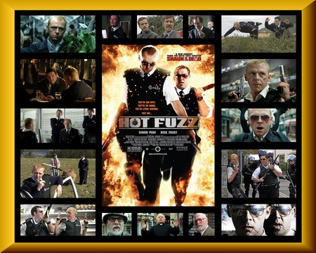 Hot Fuzz 2007 Movies Entertainment Background Wallpapers