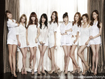 SNSD in White