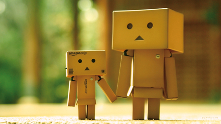 Danbo - dando, hd, photography, character, little, dando danboard