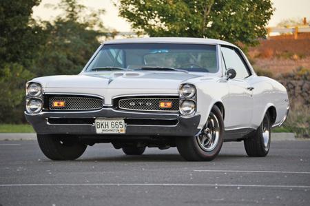 1967 Pontiac GTO - gto, classic, 67, gm