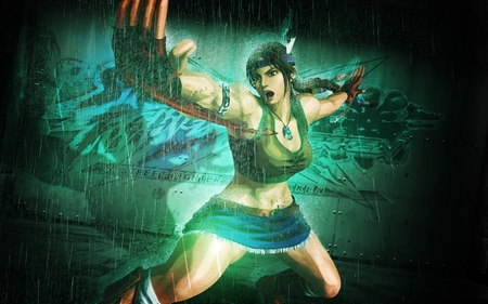Julia Chang - fighting, tekken, girl, game, hot, julia chang