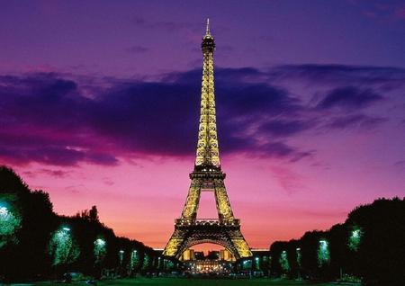 Night In Paris Skyscrapers Architecture Background Wallpapers On Desktop Nexus Image 936845