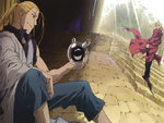 Edward,Hohenheim & father