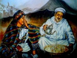 Morocco Art  lovely  tea  enjoyment ..