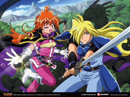 Until the End - slayers, gourry gabriev, lina inverse, the slayers