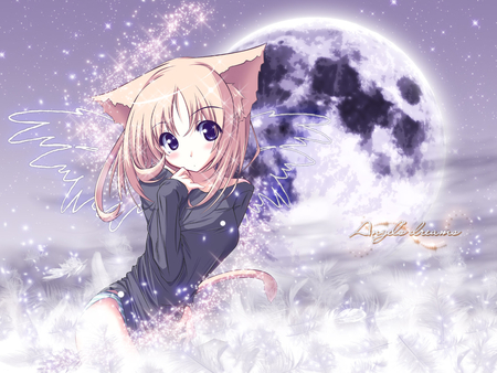 Anime Cat Girl Ah My Goddess Anime Background Wallpapers On Desktop Nexus Image 938810