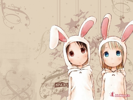 Easter Bunny Other Anime Background Wallpapers On Desktop