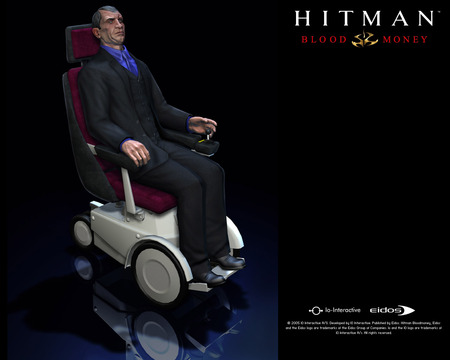 hitman blood money - blood money, hitman