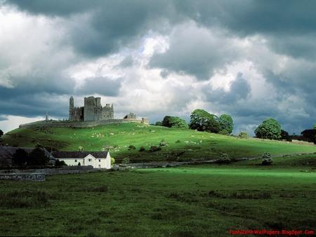 Beautiful Ireland - beautiful, green fields, ireland