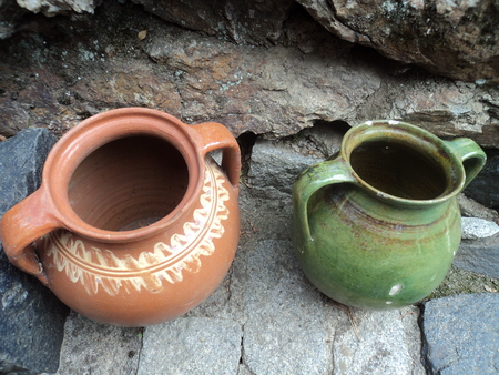 romanian folk pottery - folk, art, pottery, objects