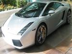 Lamborghini silver
